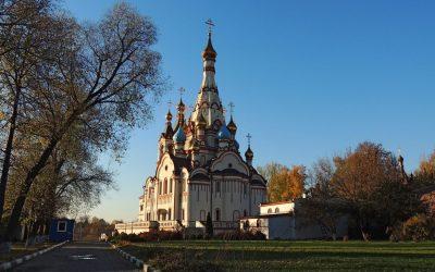 Немного фотографий с одного съёмочного дня… Облёт Храма… Закат..